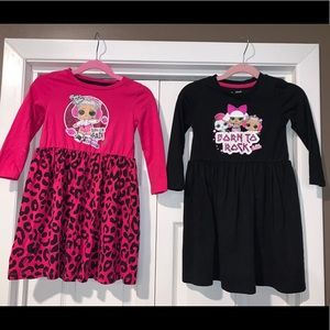 2 LOL Surprise toddler Dresses